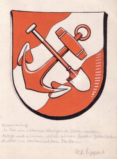 Wappenenrwurf von Brunsbüttel