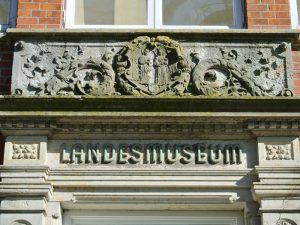Eingang des Landesmuseums Brunsbüttel