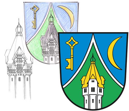 Abb. Ortswappen von Beelitz-Heilstätten Gestaltung