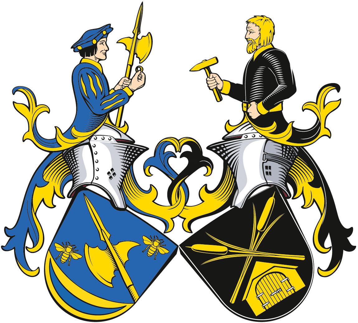 Allianzwappen Bräutigam-Rohschürmann