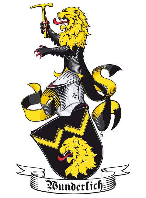 Wappen der Familie Wunderlich